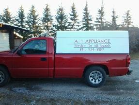 Picture of A-1 Appliance truck